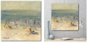 """Courtside Market Sandy Beach Gallery-Wrapped Canvas Wall Art - 16"""" x 16"""""""
