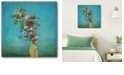 """Courtside Market Mindful Garden Gallery-Wrapped Canvas Wall Art - 16"""" x 16"""""""