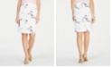 Kasper Embroidered Skirt