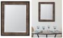 """Melissa Van Hise Gold Oxido Framed Mirror - 29"""" x 35"""" x 2"""""""