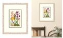 "Melissa Van Hise Cottage Flowers VI Framed Giclee Wall Art - 21"" x 25"" x 2"""