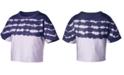 Champion Cotton Streak-Dyed Cropped T-Shirt
