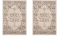 Safavieh Carmel Beige and Brown 3' x 5' Area Rug