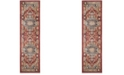 "Safavieh Bijar Red and Royal 2'3"" x 12' Runner Area Rug"