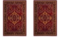 Safavieh Cherokee Red and Fuchsia 6' x 9' Area Rug