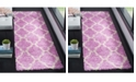 "Safavieh Dallas Pink and Ivory 5'1"" x 7'6"" Area Rug"