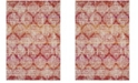 """Safavieh Montage Pink and Multi 2'3"""" x 8' Runner Area Rug"""