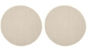 Safavieh Natural Fiber Marble and Beige 8' x 8' Sisal Weave Round Area Rug