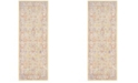 Safavieh Windsor Gold and Lavender 3' x 10' Area Rug