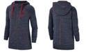 Nike Women's Cleveland Indians Gym Vintage Full-Zip Hooded Sweatshirt