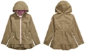 Michael Kors Big Girls Hooded Ruffled-Hem Jacket