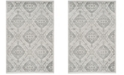 """Safavieh Carnegie Silver and Gray 5'1"""" x 7'6"""" Area Rug"""