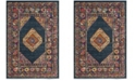 Safavieh Madison Blue and Fuchsia 10' x 14' Area Rug