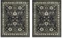 Safavieh Vintage Hamadan Dark Gray and Ivory 8' x 10' Area Rug