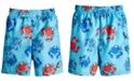 Laguna Toddler Boys Crab-Print Swim Trunks