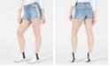 Kendall + Kylie Side-Zipper Cutoff Shorts