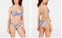 Nanette Lepore Scarf Patchwork Enchantress Bikini Top &  Scarf Patchwork Vamp Bikini Bottoms