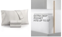 Charter Club Sleep Luxe Cotton 800-Thread Count 4-Pc. Printed Extra Deep Pocket King Sheet Set, Created for Macy's