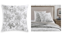 Charter Club Watercolor Leaf Cotton 300-Thread Count European Sham, Created for Macy's
