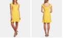 CeCe Flounce-Hem Shift Dress