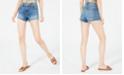 7 For All Mankind Raw-Hem Denim Shorts