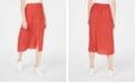 Ultra Flirt Juniors' Printed Button-Front Midi Skirt