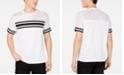 INC International Concepts INC Men's Pieced Stripe Mesh T-Shirt, Created for Macy's