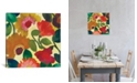 """iCanvas """"Ranunculus I"""" By Kim Parker Gallery-Wrapped Canvas Print - 37"""" x 37"""" x 0.75"""""""