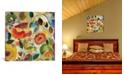 "iCanvas ""Garden Fantasie"" By Kim Parker Gallery-Wrapped Canvas Print - 18"" x 18"" x 0.75"""