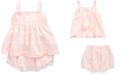 Polo Ralph Lauren Baby Girls Cotton Top & Shorts Set
