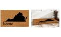 """Home & More Virginia 18"""" x 30"""" Coir/Vinyl Doormat"""