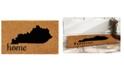 """Home & More Kentucky 24"""" x 36"""" Coir/Vinyl Doormat"""