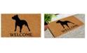 """Home & More Pit Bull 24"""" x 36"""" Coir/Vinyl Doormat"""