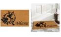 """Home & More Hummingbird Welcome 17"""" x 29"""" Coir/Vinyl Doormat"""