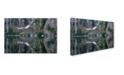 "Trademark Global Robert K Jones 'Reflections 1 2' Canvas Art - 24"" x 16"" x 2"""