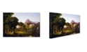 "Trademark Global Thomas Cole 'Dream Of Arcadia' Canvas Art - 24"" x 16"" x 2"""