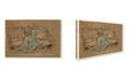 "Trademark Global Whistler 'The Green Cap' Canvas Art - 32"" x 22"" x 2"""