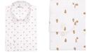 Bar III Men's Slim-Fit Clown Fish Printed Dress Shirt, Created for Macy's
