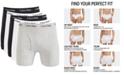 Calvin Klein Men's Cotton Stretch Boxer Briefs 5-Pack