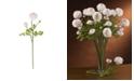 "Nearly Natural 23"" Ranunculus Stem, Set of 12"