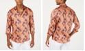 INC International Concepts I.N.C. International Concepts Men's Francesco Tropical Fern Print Shirt