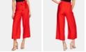 CeCe Paperbag-Waist Wide-Leg Pants
