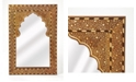 Butler Specialty Butler Chevrier Wood and Bone Mirror