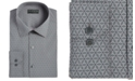 Alfani Alfani Men's Alfatech Slim-Fit Performance Stretch Wrinkle-Resistant Moisture-Wicking Geo-Print Dress Shirt, Created for Macy's