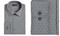 Alfani Alfani Men's Alfatech Slim-Fit Performance Stretch Wrinkle-Resistant Moisture-Wicking Geo-Print Dress Shirt, Created for Macy's