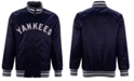 Starter Men's New York Yankees Captain Coop Satin Jacket