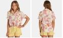 Billabong Big Girls Printed Ruffled-Hem Shorts
