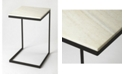 Butler Specialty Butler Lawler Metal and Marble Table