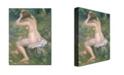 "Trademark Global Pierre Auguste Renoir 'A Bather, 1885-90' Canvas Art - 47"" x 35"""
