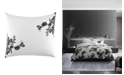 Vera Wang Ink Botanical King Sham